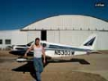 piper cherokee flying with Mike Meyer of Azle, TX